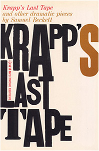 """krapps last tape imagery in color Assignment # 13 – samuel beckett's """"krapp's last tape"""" – date due: june 15th (monday) june 10, 2015 uncategorized rogeriossferreira answer the 10 questions of """"considerations for critical thinking and writing"""" on page 1593."""